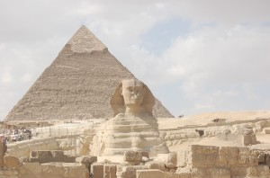 Pyramids and Sphinx, Cairo