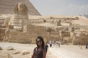 Angie at Pyramids