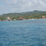 Roatan Coastline (view from ship)