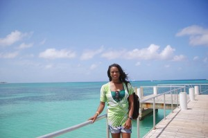 angie in grand turk 2014